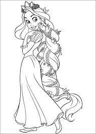 rapunzel coloring pages disney coloring pages