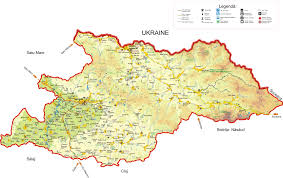 Map Of Romania In Europe by Maramures Romania Travel And Tourism Information