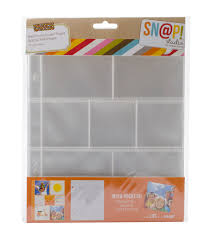 photo pocket pages simple stories 2x2 3x3 snap insta pocket pages joann