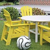 Kids Patio Chairs by Poly Wood Kids Recycled Outdoor Furniture Collection