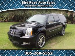 cadillac escalade 2017 grey used cars u0026 trucks miami fl used suv u0027s for sale miami fl bird