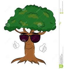 cool trees cool tree cartoon stock illustration illustration of illustration