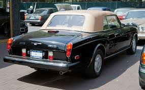 black convertible bentley file 1990 bentley continental in black jpg wikimedia commons