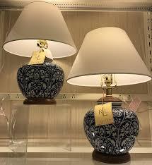 lamps ginger jar lamps ralph lauren ginger jar lamps temple