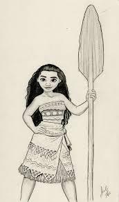 moana disney graphite drawing by julesrizz on deviantart moana