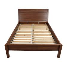 Brown Wood Bed Frame 67 Ikea Ikea Size Brown Bed Frame Beds
