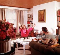 1966 a picture of the british actress honor blackman sitting with