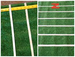 Football Field Rug For Kids Diy Football Field Table Cover College Football Tailgate Party