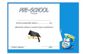 preschool diploma preschool diploma certificate template 5 the best template collection