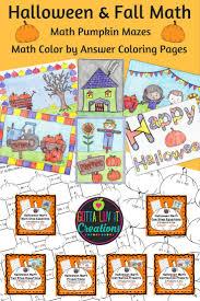 Halloween Printables For Kindergarten by 5836 Best Halloween Math Ideas Images On Pinterest Halloween