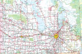 Map Of Minnesota Cities Map Of Southern Manitoba