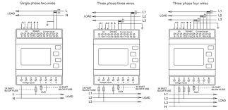 sdm630mv ct 333mv mini ct connection and 0 33v input three phase 4