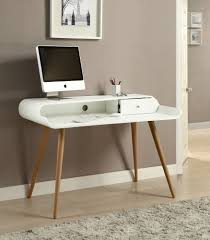 Buy Small Desk Online Jual Furnishings Pc702 Retro Vintage Computer Desk White U0026 Ash