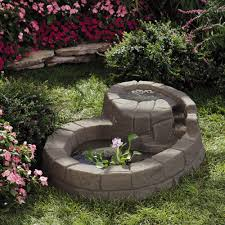 stone hill tranquility pond small garden ponds pinterest