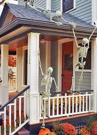 Pottery Barn Outdoor Halloween Decorations by Best 25 Halloween Front Porches Ideas On Pinterest Halloween