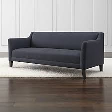 back sofa tight back sofas crate and barrel