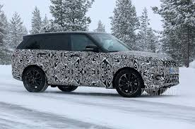 land rover sport 2018 spied updated 2018 land rover range rover sport in the snow