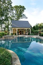 Pool Houses And Cabanas Converted Pool House Pool Traditional With Pool Cabana Traditional