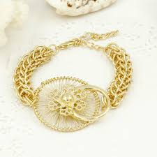 jewelry necklace bracelet images Big necklace bracelet rings earrings set dubai gold plated jewelry jpg