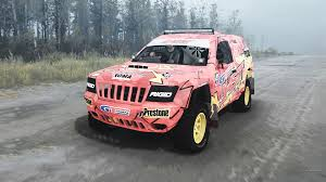 racing jeep grand cherokee jeep grand cherokee wj superwolf v1 04 for mudrunner