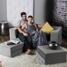 Queen Size Sofa Beds by Amazon Com Jaxx Zipline Convertible Sleeper Loveseat U0026 Ottomans