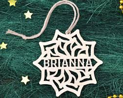 Custom Made Christmas Decorations by Personalized Christmas Ornaments Etsy