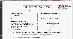 Letter Of Reconsideration For College Admission Consumer Debt Litigation Texas December 2013