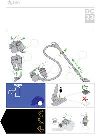 dyson vacuum cleaner dc23 user guide manualsonline com
