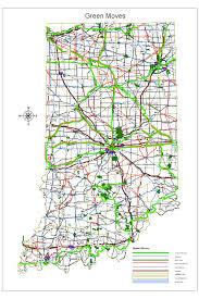 Modot Traveler Map Indiana Highway Construction Map Indiana Map