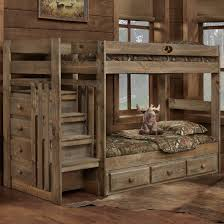 American Woodcrafters Loft Bed Mossy Oak Twin Stair Bed By Simply Bunk Beds Home Decor Bedroom