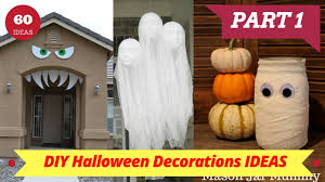 home halloween decorations diy homemade halloween decorations 60 amazing diy halloween decorations for your home part 1 home decorating ideas youtube home