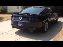 2013 mustang gt flowmaster exhaust 2013 gt mustang w flowmaster outlaw exhaust axel back