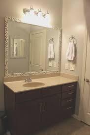 bathrooms design framing bathroom mirror mirrors black frame