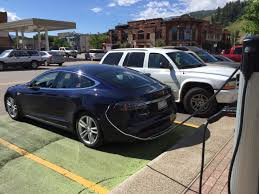 Tesla Charging Station Map More Drivers Starting To Use City U0027s Electric Vehicle Charging