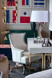Upholstered Swivel Desk Chair Norman Leather Swivel Adjustable Desk Chair Mecox Gardens