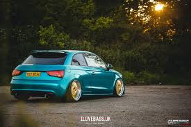 slammed audi stanced audi a1 cartuning best car tuning photos from all the