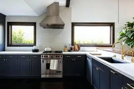 dark navy kitchen cabinets navy blue kitchen cabinets dark navy blue kitchen cabinets mistr me