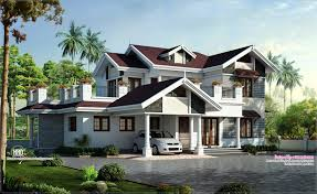 beautiful villa design in 2750 sq feet kerala home design and