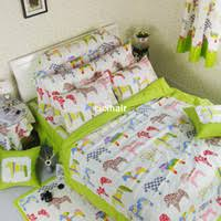 Horse Comforter Twin Buy S U0026amp V Korean Cartoon Bedding Sets Cotton Bed Linens Ice