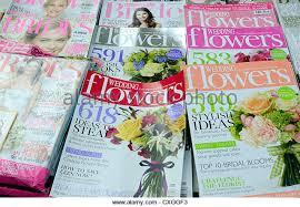 Wedding Flower Magazines - wedding magazine stock photos u0026 wedding magazine stock images alamy