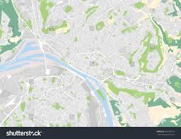 map of rouen vector city map rouen stock vector 356533727