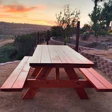 Best Wood To Make Picnic Table by Die Besten 25 Picnic Table Kit Ideen Auf Pinterest Dekorative