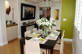 dining room table flower arrangements modern flower arrangements for dining room design with black table