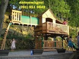 Home Depot Playset Installation Swing Set Installer Nj Cedar Summit Canyon Ridge Playset From