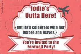 farewell party invitation 10 farewell party invitation wordings to bid goodbye in style