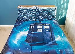 Dr Who Duvet Doctor Who Gallifrey Bedding Set Think Geek U2013 Merchandise Guide