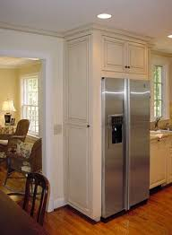 cabinet enclosure for refrigerator kitchen cabinets over refrigerator painted glazed refrigerator