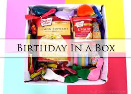 send birthday gifts sending a birthday in a box crafty to do box