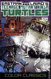 teenage mutant ninja turtles color classics 2012 idw comic books