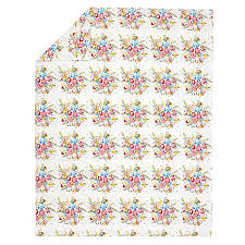 floral flannel duvet cover the land of nod